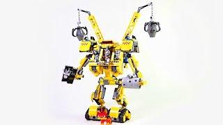 Робот Эммета.Лего Муви.Обучающие мультики и развивающие видео сборки из конструктора Лего.