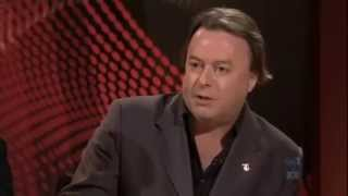 Witty, Honest and Cool Christopher Hitchens on Q & A