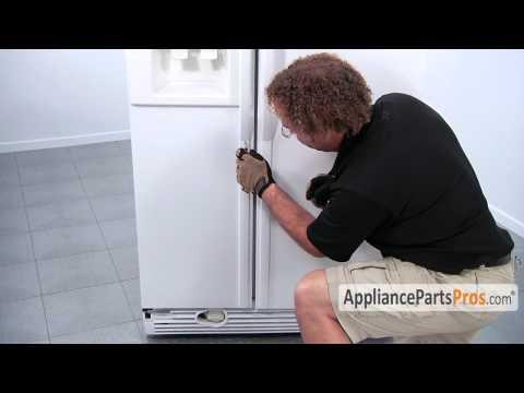 Refrigerator Door Handle - How To Replace