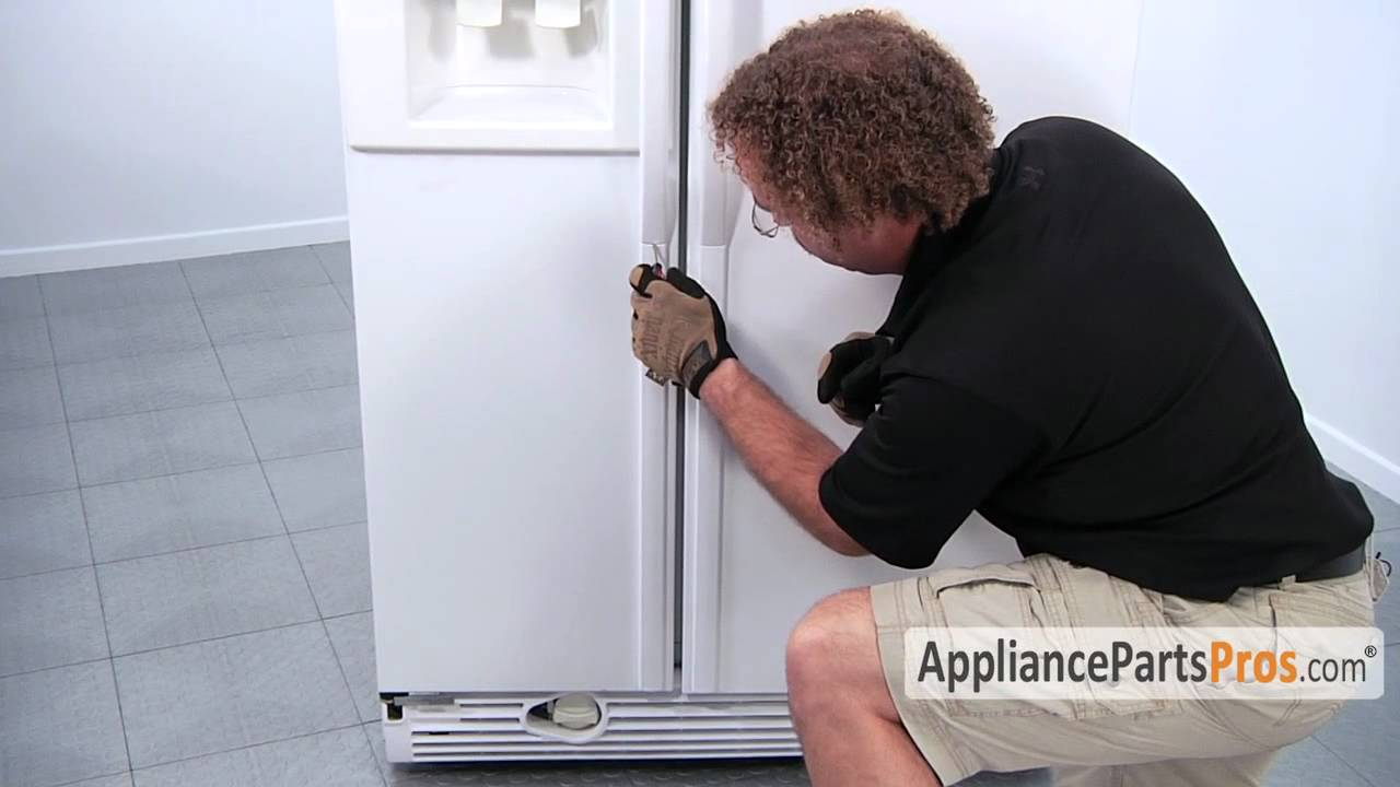 Refrigerator Door Handle - How To Replace - YouTube