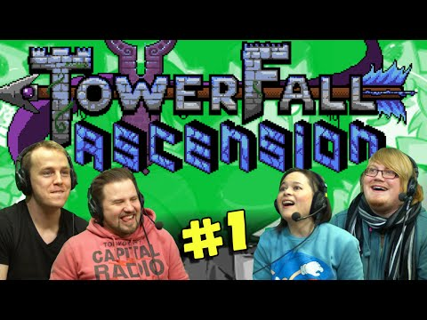 TOWERFALL ASCENSION with Duncan, Turps, Nath & Kim! (#1) MLG PRO PLAYS!