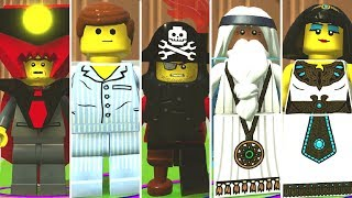 All Dlc Characters In Lego Movie 2 Videogame Phrophecy Pack By Mariobricks