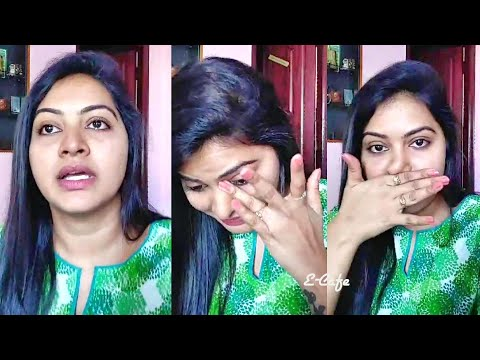 Actress Rachitha Mahalakshmi Emotional Live😥 our life is not happy like serial😪Vj Chitra | PART 1 |