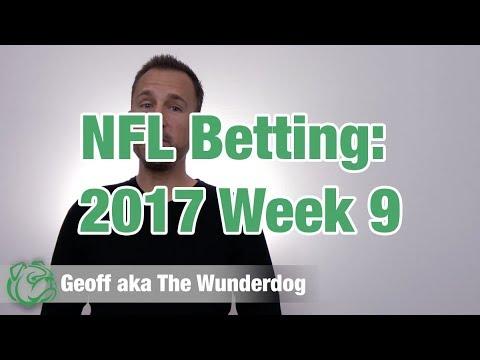 Week 9 NFL Picks 2017 (18-4 on video picks!)