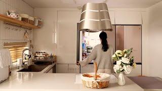 낭비없이 냉장고 정리하고 예쁜 그릇 정리하고 반찬 만들…