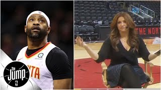Vince Carter not sold on 2019 NBA dunk contest, but Rachel Nichols not giving up | The Jump