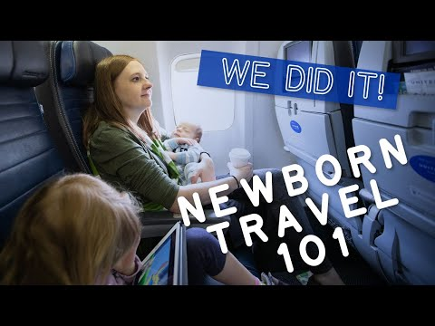 Flying with a Newborn Baby ���� ✈️ Travel Tips for Surviving Baby's First Flight