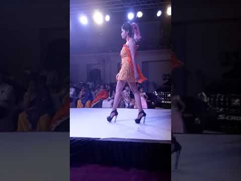 My first fashion show as a fashion designer in kanpur fashion week  at Vijay intercontinental(1)