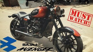 Modified avenger | Avenger modified to Harley Davidson | Avenger 220 | avenger 150 | bajaj avenger