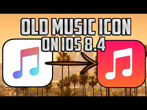 How To Get iOS 7 - 8.3 Music Icon on 8.4! (Cydia Jailbreak Winterboard Theme: No Apple Music Logo)