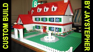 Custom Build - 3 Bedroom 2 Bath Lego Home