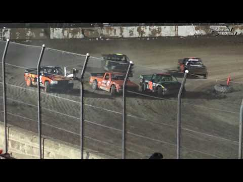 Fremont Speedway Dirt Truck Feature - 6/3/17