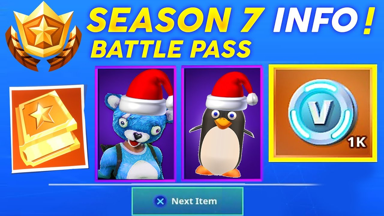 Season 7 Battle Pass Skins Pets Map Update Release Date And