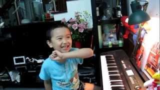 Bài Hành Khúc Thổ Nhĩ Kỳ_Mozart by Teppi 6 years_ 2012