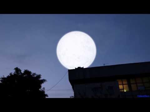 Супер Луна приблизилась к планете Земля
