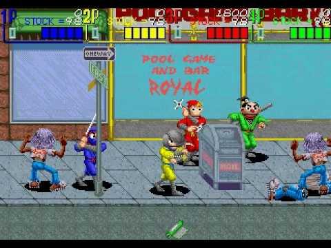 The Ninja Kids gameplay