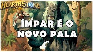 HEARTHSTONE - ÍMPAR É O NOVO PALA! (STANDARD ODD AGGRO PALADIN)