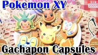 Pokemon XY Gachapon/Gashapon - Surprise Blind Capsules - Kawaii Charms