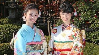 女優でモデルの高橋ひかると井本彩花が、新年のコメントを寄せた。井本...