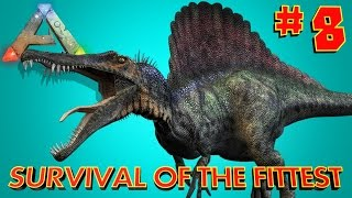 [8] FIVE SPINO ROUND!!! (ARK SOTF Survival Of The Fittest)