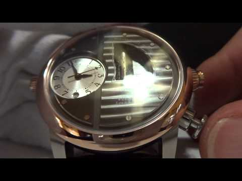 Reuge Boegli musical wristwatch playing Vivaldi