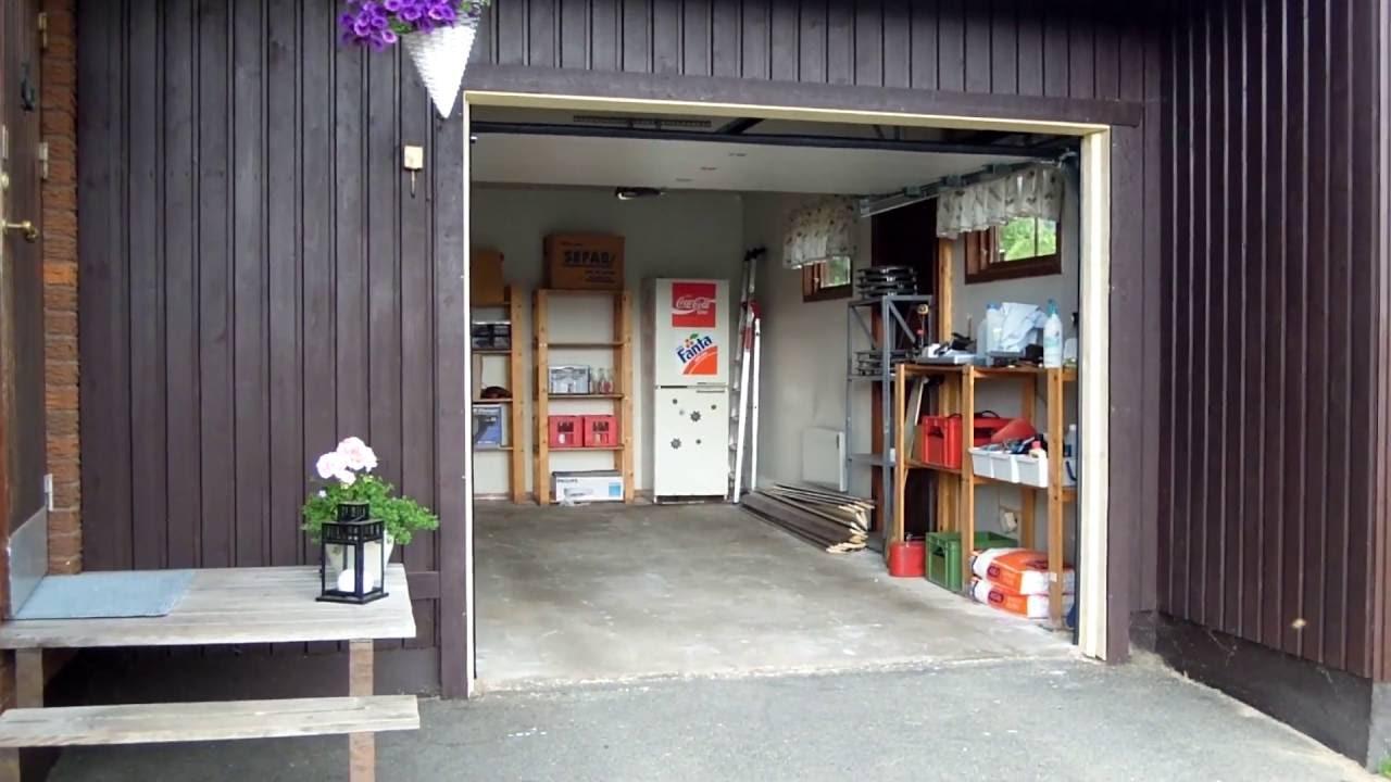 Automatisk garageport! - YouTube