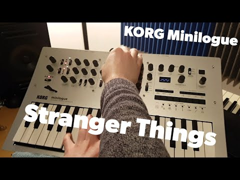 Stranger Things Synth Cover on the Korg Minilogue