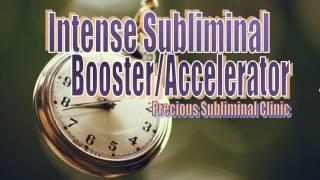 Subliminal Accelerator II Subliminal Booster - 1st Formula - INSTANT RESULTS