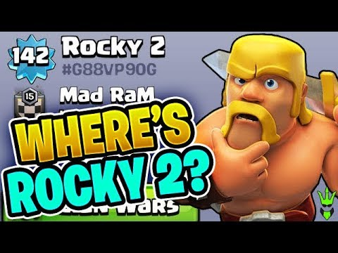 WHAT HAPPENED TO ROCKY 2? - Near Max TH9 Dark Elixir Farming - Clash of Clans