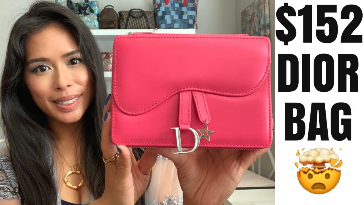 The CHEAPEST Dior Saddle Bag! Dior Beauty Addict Stellar Shine Lipstick Set Review #NSALE