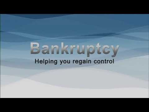 Bankruptcy: Helping you regain control