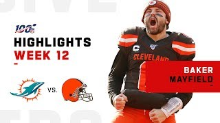 Baker Mayfield's Triple-TD Victory | NFL 2019 Highlights