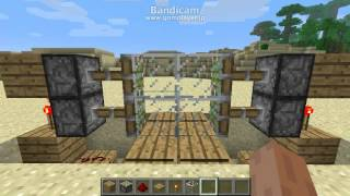 Minecraft 自動ドアの作り方 thumbnail