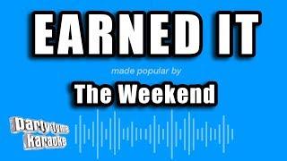 The weeknd - earned it (fifty shades of gray) (karaoke version)