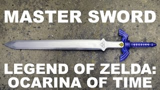 Making the Master Sword from The Legend of Zelda