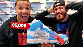 Guess The PRICE And I'll BUY You The Shoe Challenge!