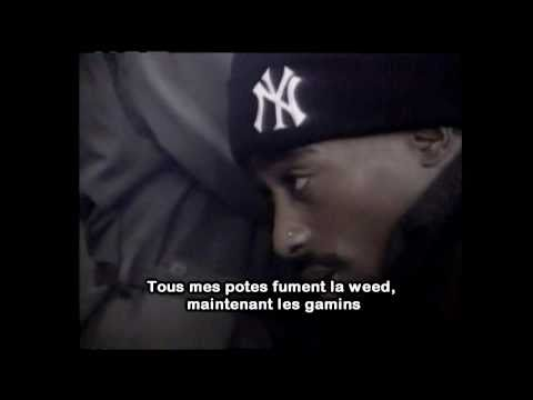 2pac - starin' through my rear view [Traduction] (unofficial video)
