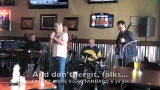 """Un-Johnny Cash"" at the ""Un-bacon Jam"" - 11-3-2013"