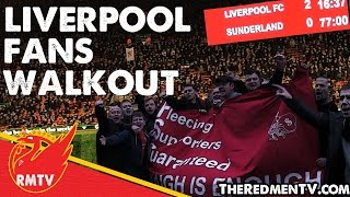 Liverpool Fans' Walkout Protest | #WalkOutOn77 | LFC News