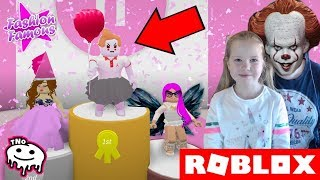 WE WIN FOR PENNYWISE?! ✨ Fashion Famous | Roblox | Daddy and Barunka CZ/SK