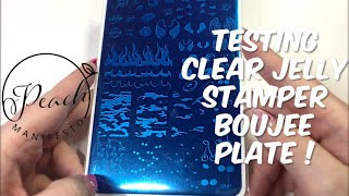 Clear Jelly Stamper Boujee Plate !