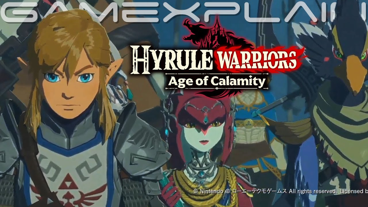 Hyrule Warriors Age Of Calamity Champions Unite Trailer English Tgs Youtube