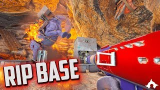 RIP BASE! | OFFICIAL 6 MAN, S3. EP.7 | OFFICIAL ARK SURVIVAL EVOLVED | TITANSHIELD