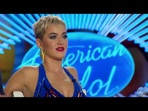 Katy Perry Can't Stop Flirting With 'American Idol' Contestants