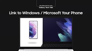 Q&a: samsung electronics developers on the strengths of galaxy book pro series.q. what exactly is link to windows / microsoft your phone?link ...