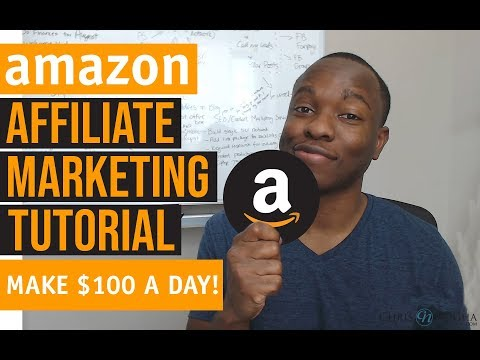 Amazon Affiliate Marketing Tutorial - How to Make $100 PER DAY From Scratch thumbnail