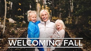 WELCOMING FALL || Devine Family Vlog