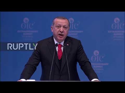 Turkey: World should recognise Jerusalem as Palestinian capital – Erdogan