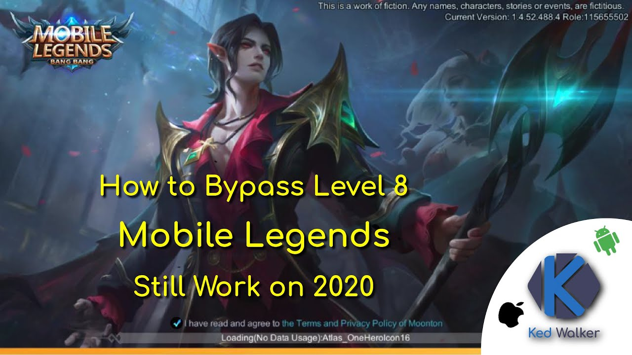 「Tutorial」2019 Mobile Legends | How to Skip/Bypass Level 8 「UPDATE!!」[See  Descriptions First!!]