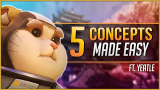 5 OVERWATCH CONCEPTS made EASY ft. Yeatle